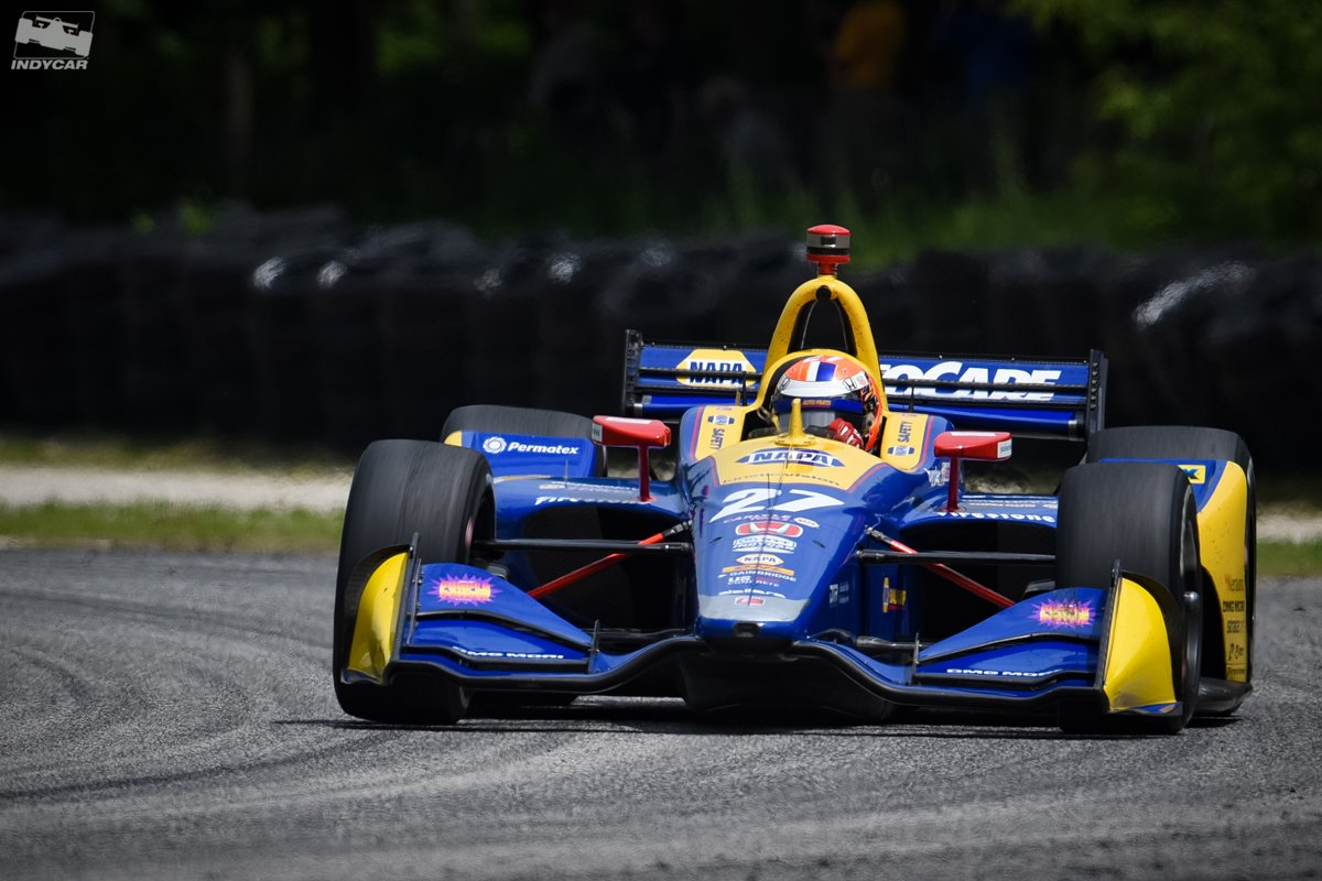 Hes on a roll. @AlexanderRossi in the last 5 races: #Indy500: 🥈 #DetroitGP 1: 🥈 #DetroitGP 2: 5⃣ #DXC600: 🥈 #REVGROUPGP: 🥇 #INDYCAR // @FollowAndretti