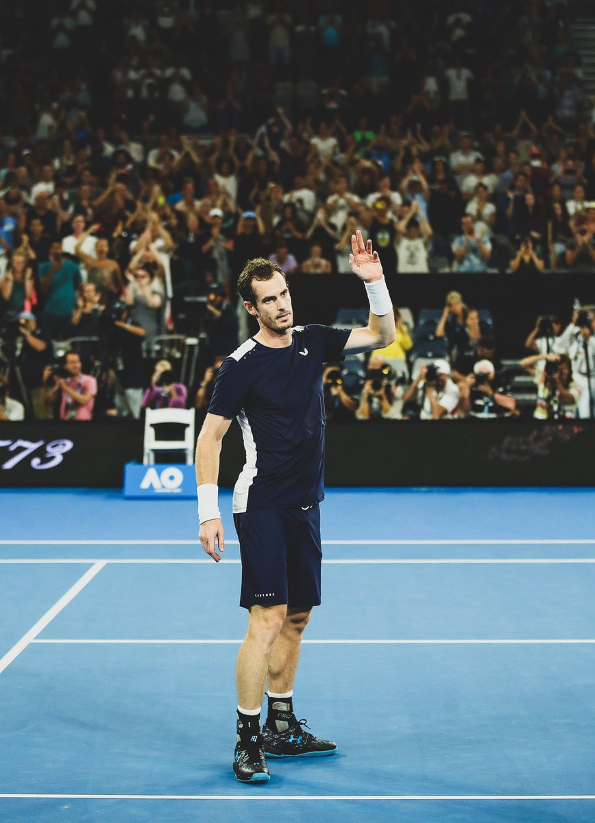 January 2019:   @Andy_Murray says @AustralianOpen could be his last ever tournament as a player.   January 2019:   @Andy_Murray undergoes hip resurfacing surgery.   June 2019:   @Andy_Murray wins the @QueensTennis doubles with @Feliciano_Lopez.   Never. Give. Up.<br>http://pic.twitter.com/b1WRgcrvgB