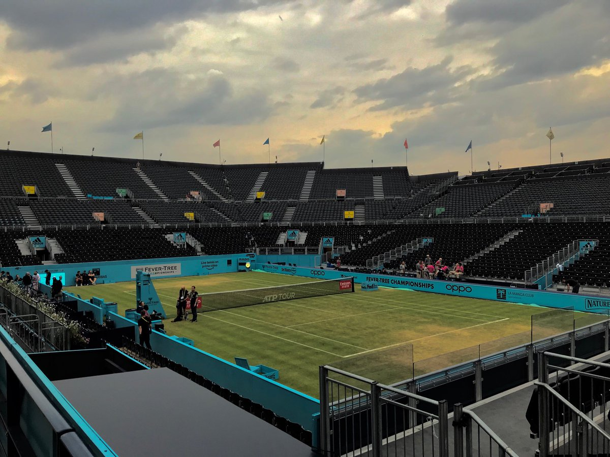 The sun sets on the 2019 #FeverTreeChampionships @QueensTennis after a memorable week. Congratulations to @feliciano_lopez & @andy_murray on their remarkable achievements both individually and as a team. Inspirational.<br>http://pic.twitter.com/XyV1VbYCf2