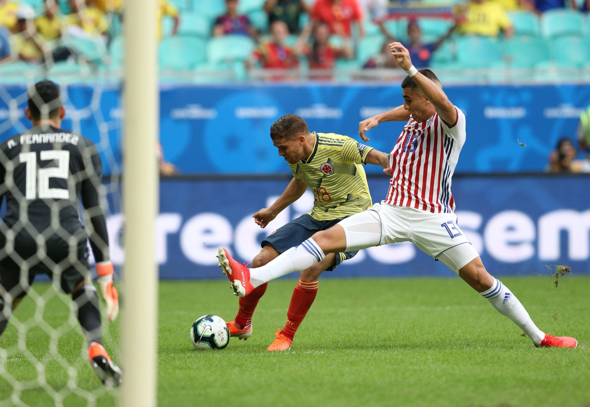 Копа Америка. Колумбийские дублеры не оставили шансов сборной Парагвая - изображение 1
