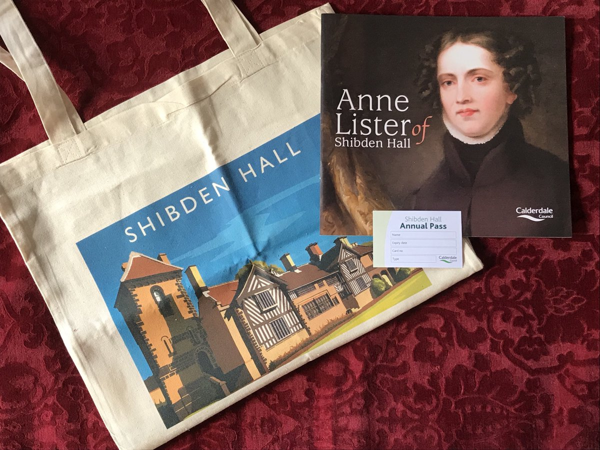 GIVEAWAY TIME! Want to win our #AnneLister book, a #ShibdenHall tote bag AND an annual family pass to the home of #GentlemanJack? To enter make sure you're following @ShibdenHall & @BankfieldMuseum and retweet this post to be in with a chance to win! Winner announced 1st July!