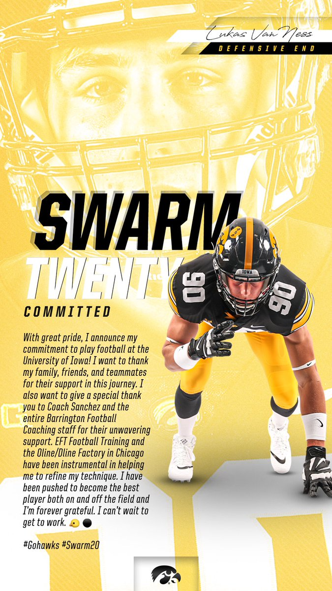 Iowa Adds Commitment After Major Recruiting Weekend