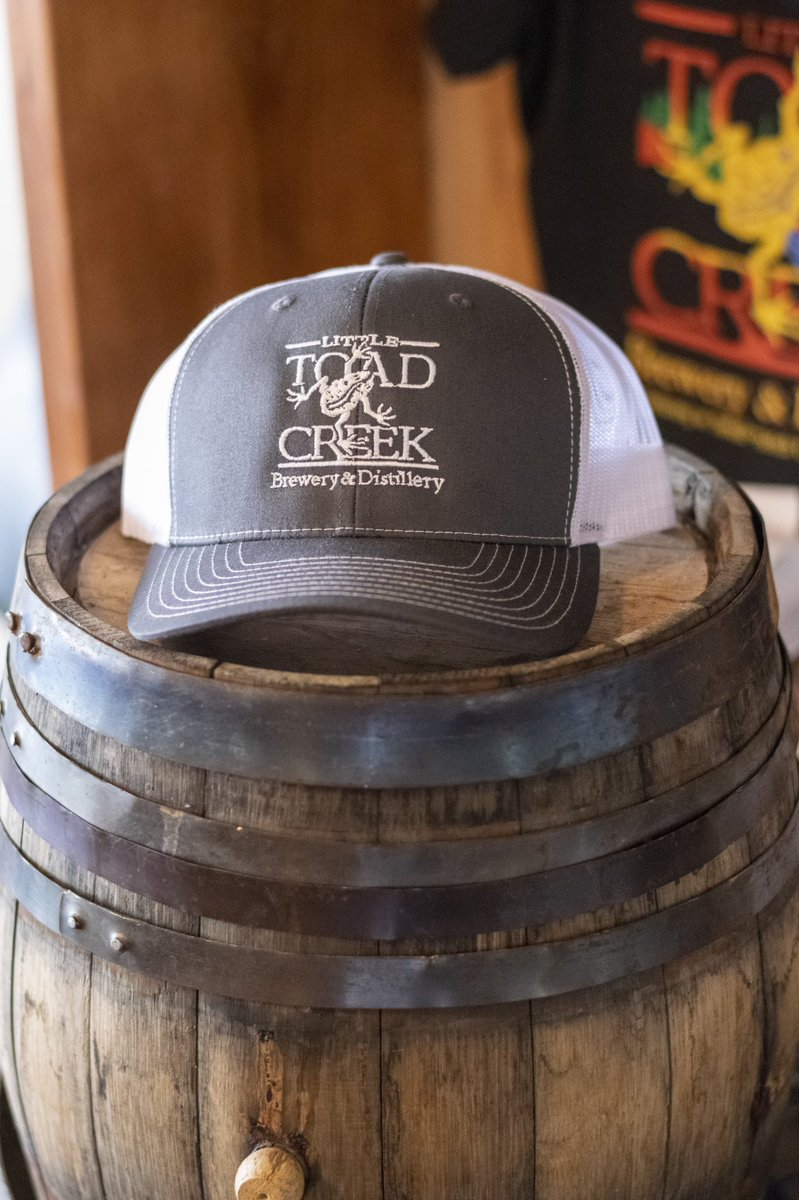 It's a beautiful Sunday here at the Toad! Come down and grab some beers and one of our sweet hats!  #brewerymerch #littletoadcreek #silvercitynm #nmcraftbeer