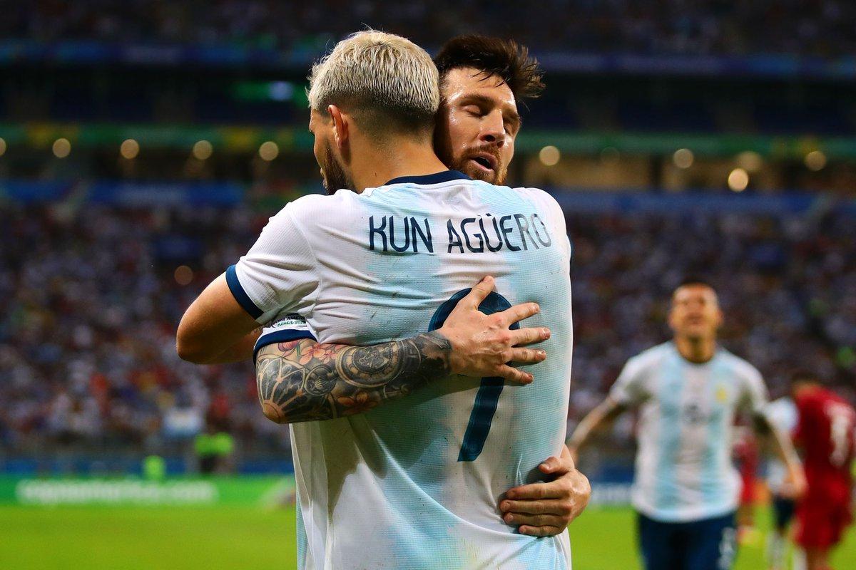 ثنائية الأرجنتين في مرمى قطر بكوبا أمريكا