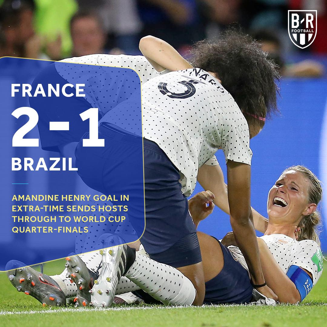 #FRA are still alive at the #FIFAWWC 💪