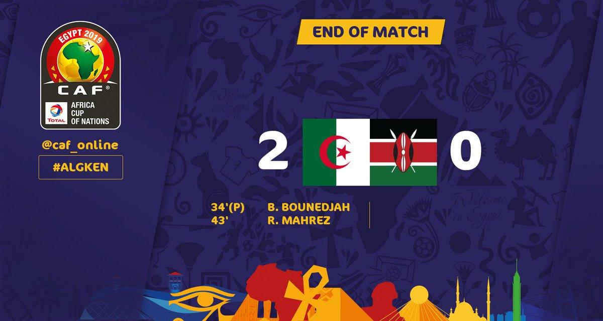 Algérie-Kenya