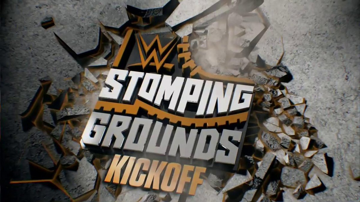 It's time for our Superstars to MAKE THEIR MARK! The #WWEStompingGrounds #Kickoff starts RIGHT NOW on @WWENetwork!