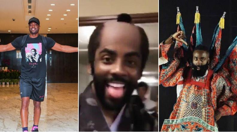 哈登唱京劇,厄文「理光頭」,韋德做美甲,NBA球星都做了什麼?