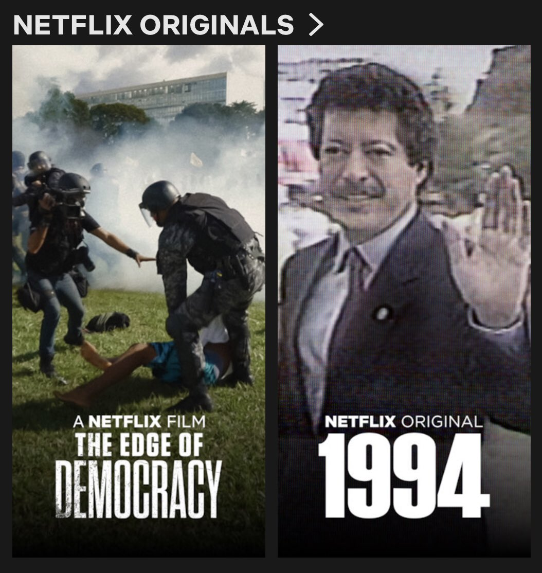 Edge Of Democracy Netflix