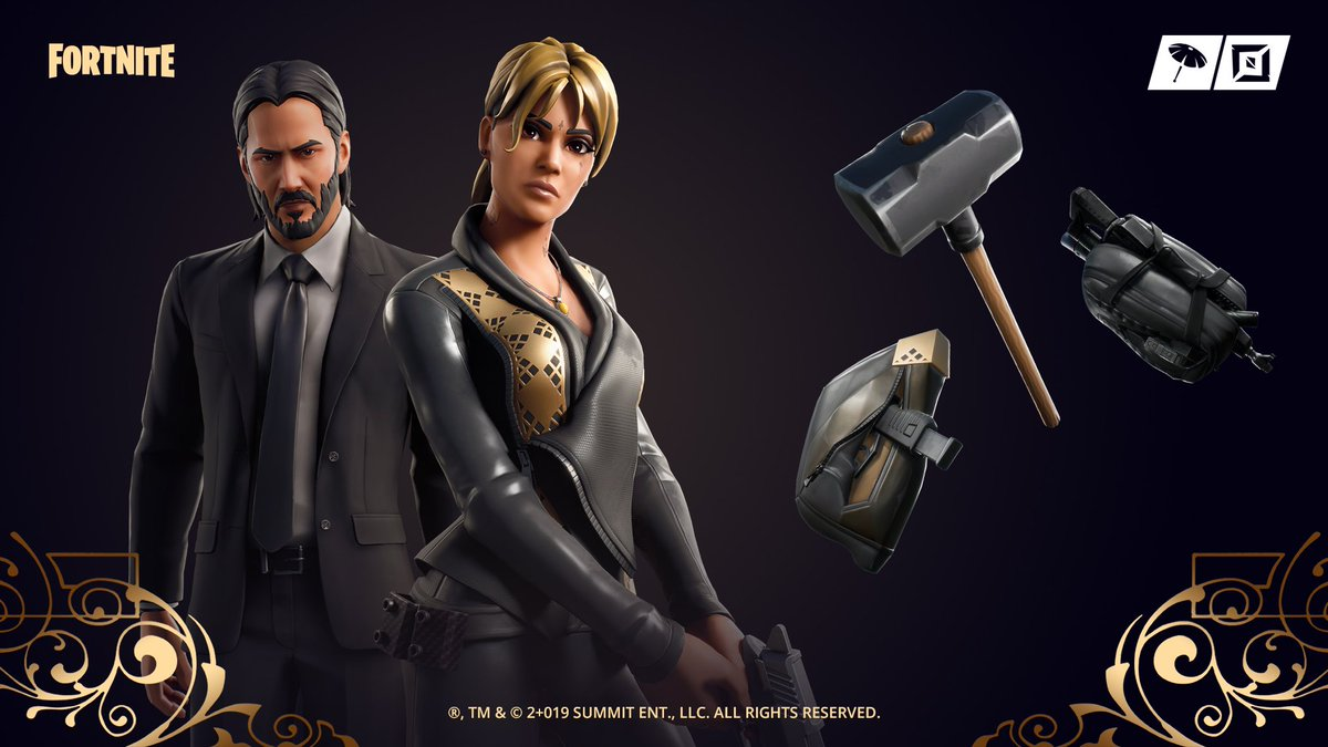 Fortnite On Twitter And Away We Go The John Wick Set With The New Sofia Outfit Is In The Item Shop Now Also, in the world of esports, riot games is backing former nba star rick fox in his dispute with the organization he. john wick set with the new sofia outfit