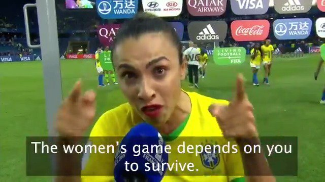 Brazilian Superstar Marta Just Said the Most Inspiring Thing You'll Hear This Week (and Showed What True Leadership Looks Like)