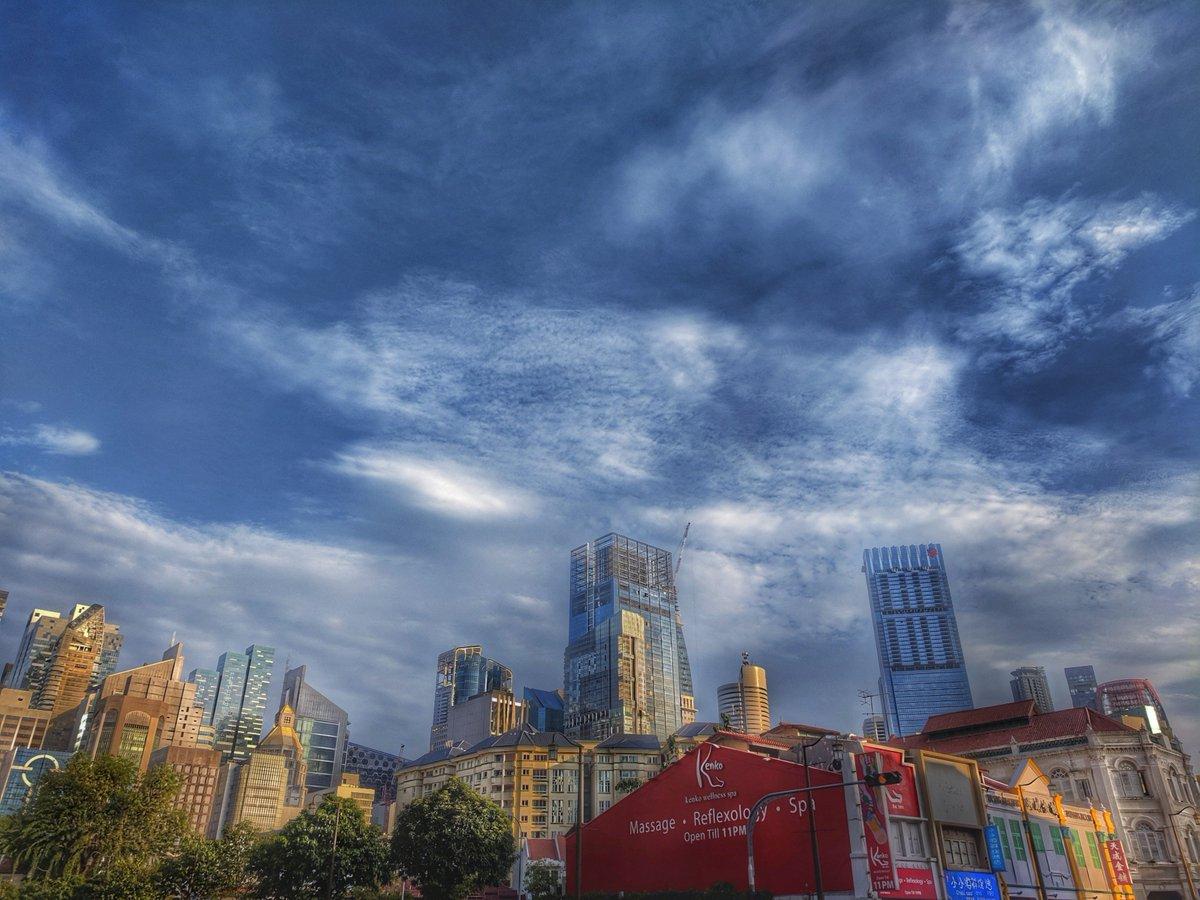 Is it Monday again?  📷 #GooglePixel #livelifelove #sg #Singapore #Snapseed #travel #vacation #holiday #cityscape #mondaymotivation #downtown #sgig #skyscrapers #motivation #コーヒーのある暮らし #cloudyskies #cityskyline #wanderlust #青い空 #cities #雲 #chillaxing #seasonoflove