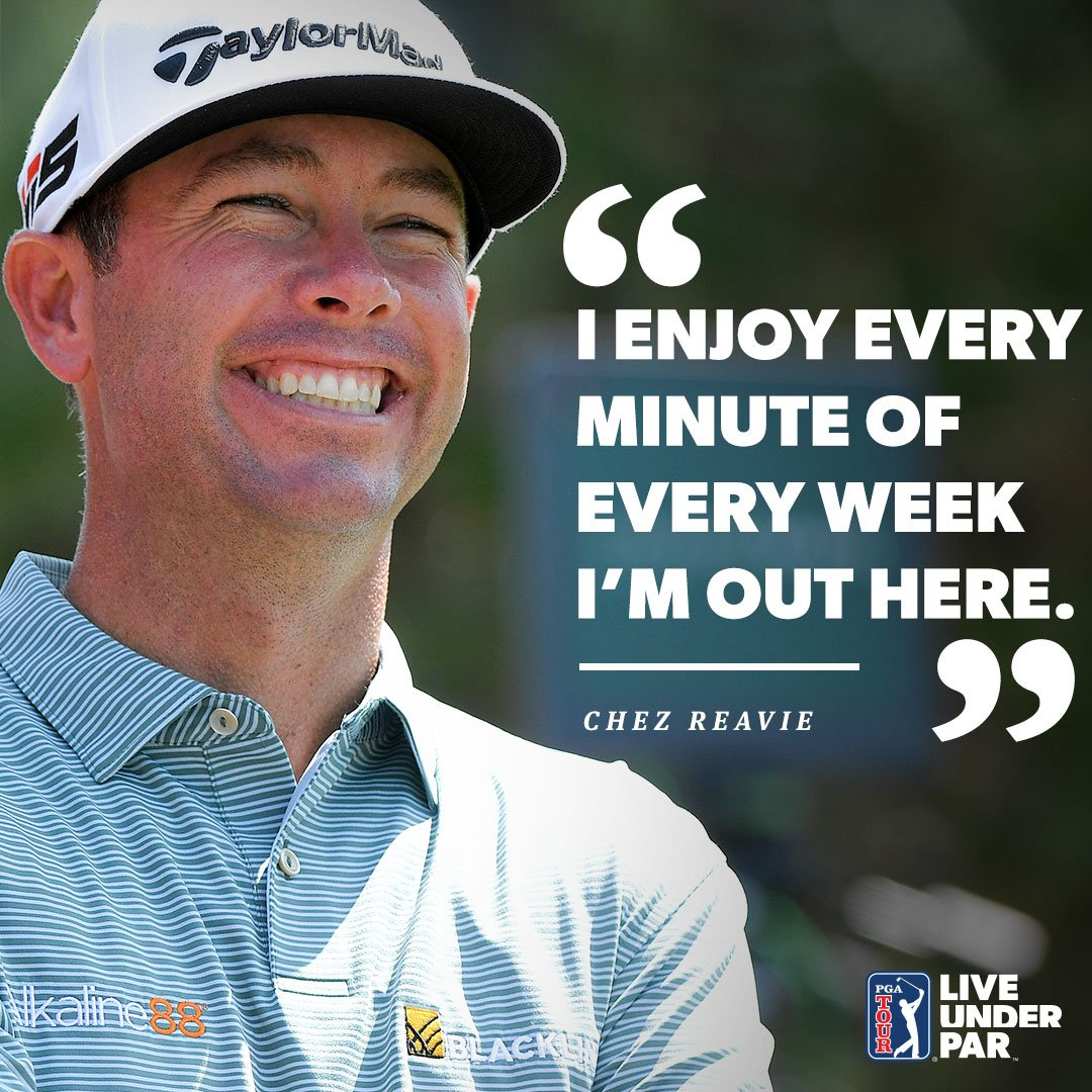 Big #MondayMotivation by Chez Reavie taking home the Travelers Championship at TPC River Highlands, his first victory since 2008!  Just shows what hard work and perseverance can do. #PlayTPC