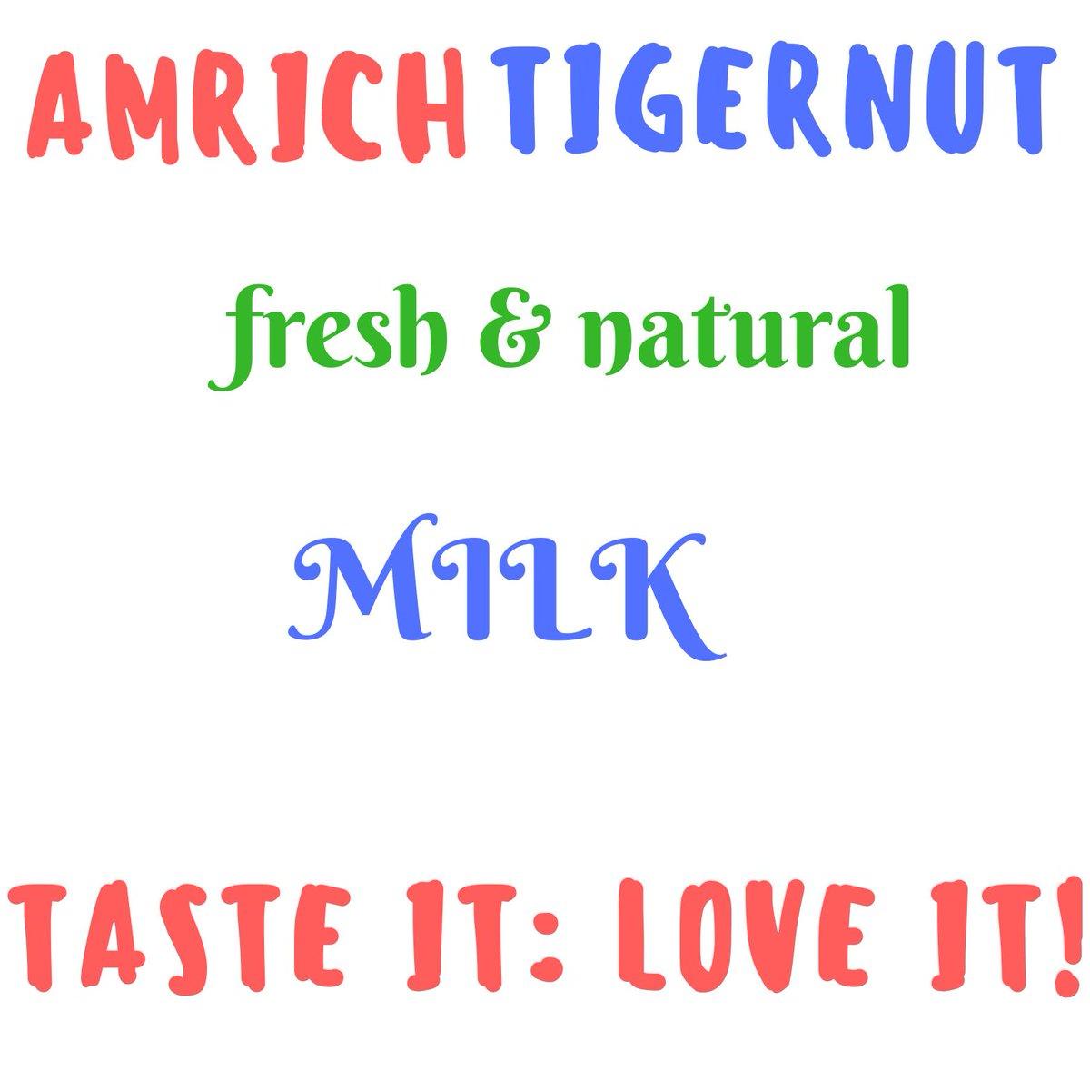 AMRICH TigerNut Milk  (@AmrichMilk) | Twitter