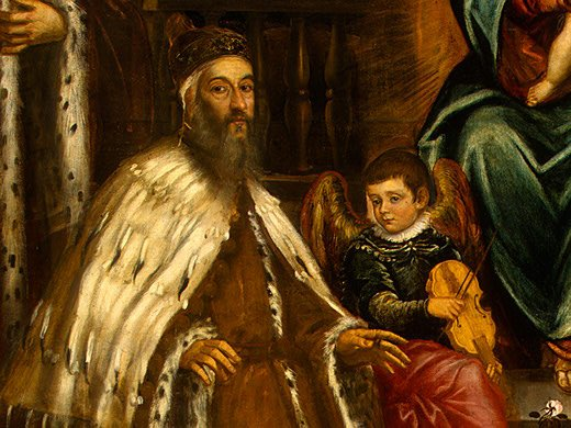 Doge Alvise I Mocenigo and Family Before the Madonna, 1573 https://t.co/wdhfRTmIoH #tintoretto #wikiart https://t.co/qwFoM4maU6