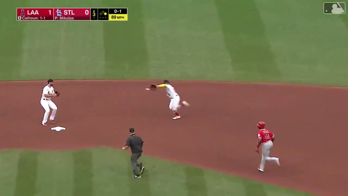I don't know how Kolten Wong just did this but I'm impressed