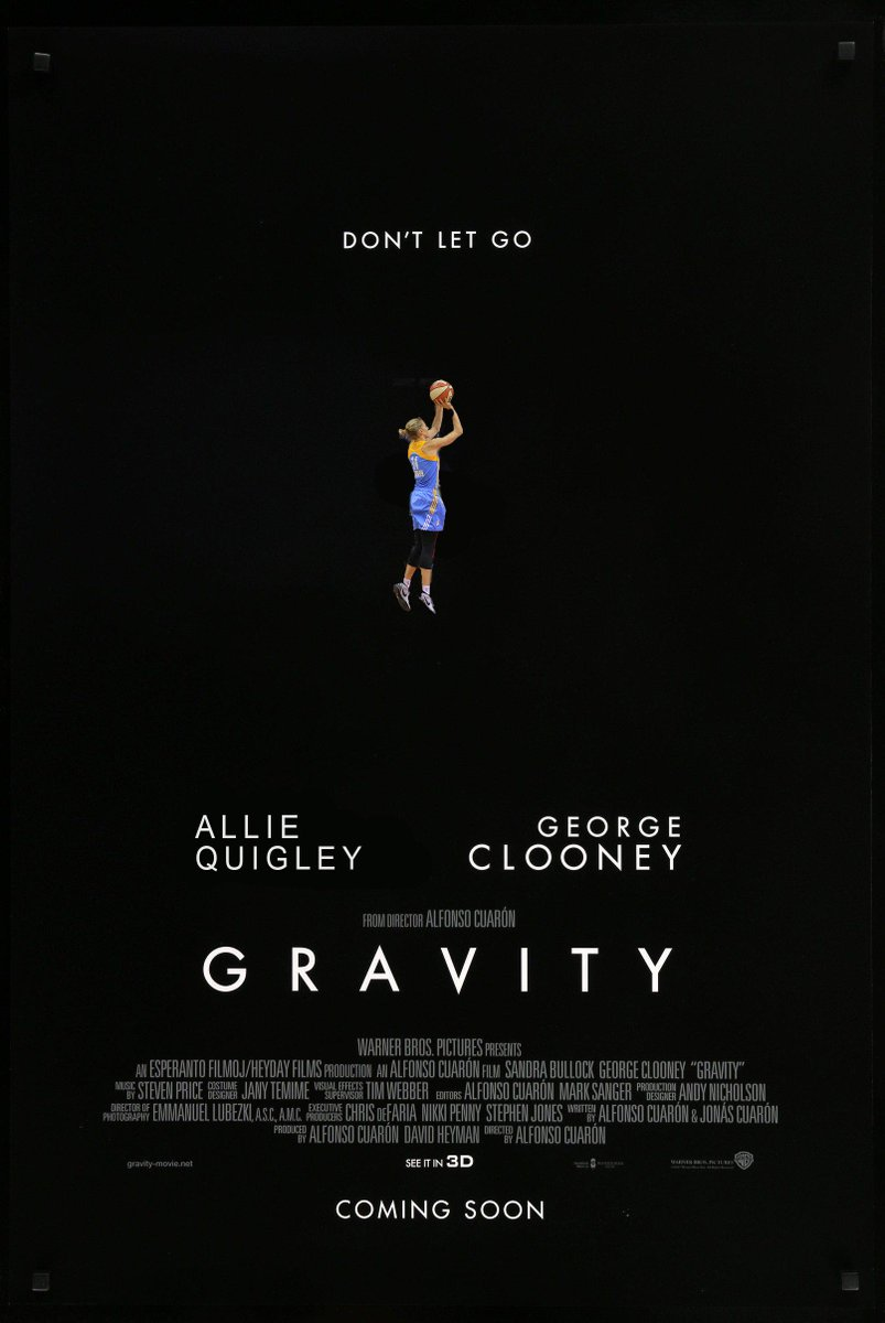 Rewatching tonight's @wnbachicagosky game and figured out what movie poster describes @AllieQuigley's impact on the Sky's spacing
