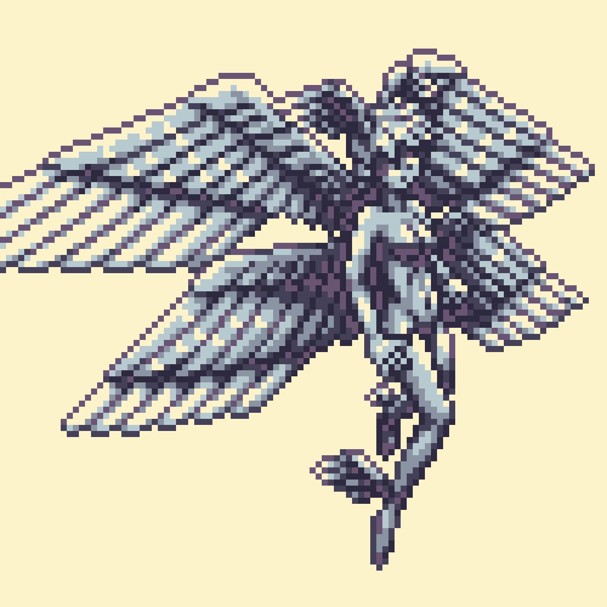 Pixilart On Twitter Angel By Kido Pixilart Pixelart