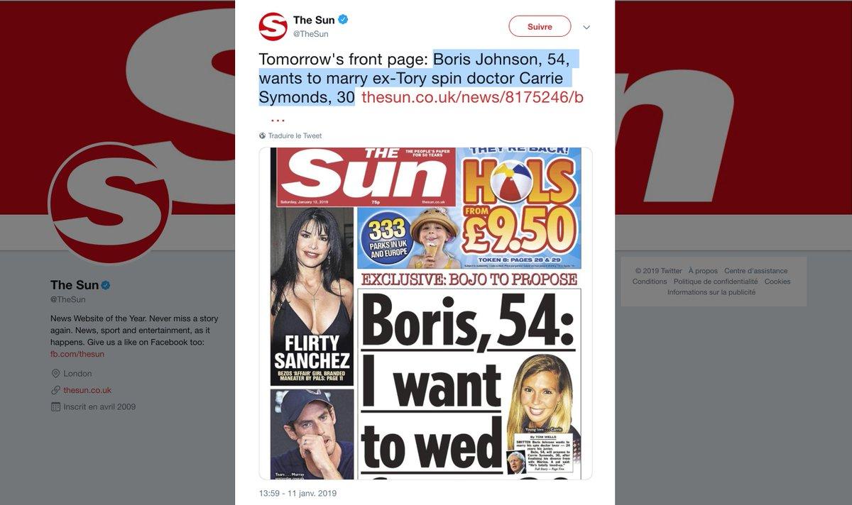 la communication et les relations presse du Parti conservateur pendant huit ans (2010-2018). Auparavant, Carrie #Symonds avait conseillé Sajid #Javid, actuel ministre de l'intérieur et ex-candidat à la succession de Theresa May. Au siège des Tories, elle a côtoyé de près... <br>http://pic.twitter.com/vOQ4u1wgUs