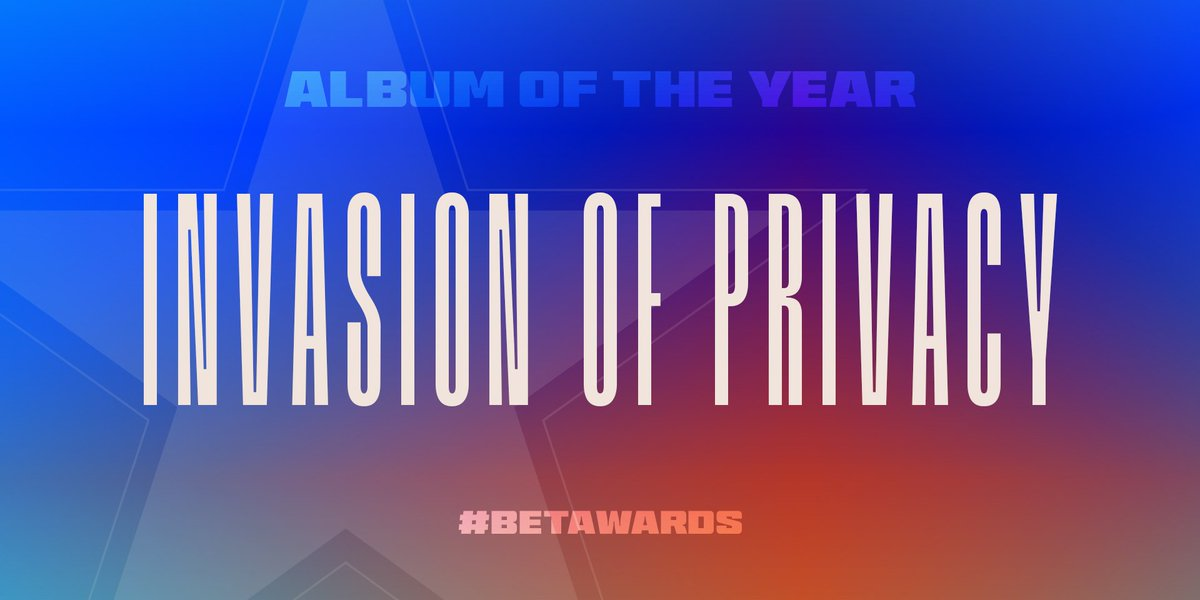 Invasion of Privacy took home #AlbumOfTheYear #BETAwards <br>http://pic.twitter.com/Q8ztEi8zOx