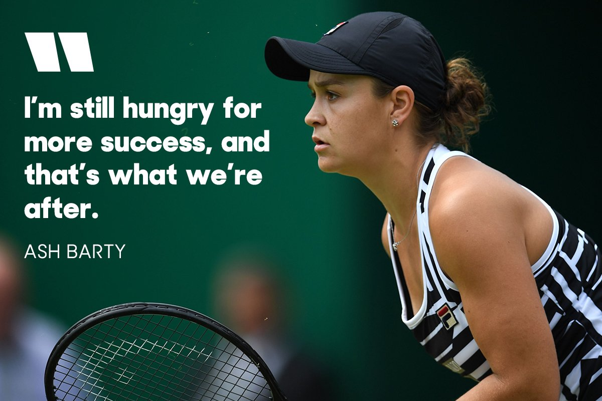 Roland-Garros  World No.1  Wimbledon   @ashbar96 is on a mission   http:// bit.ly/2x7CyI8     <br>http://pic.twitter.com/XDChZmdTz9