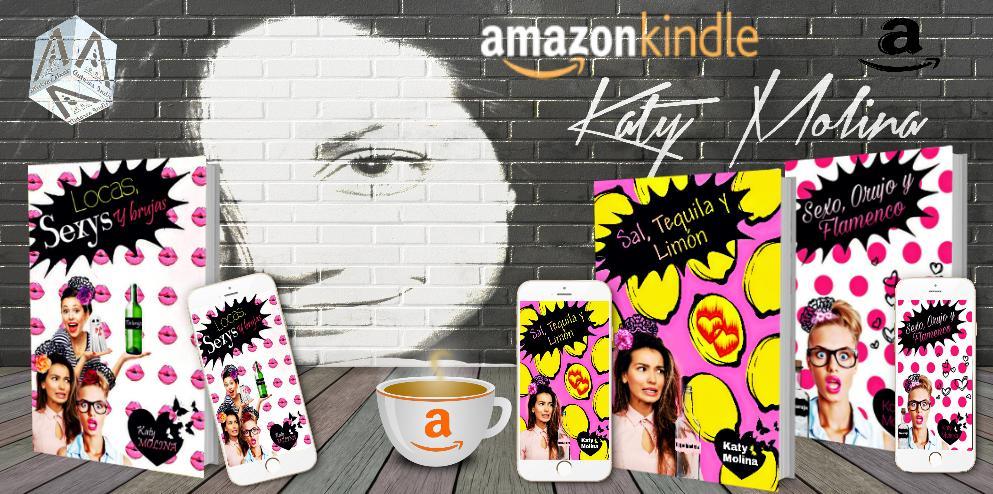 AUTORES INDIE A.B. LEE, VIVE Y SUEÑA Serie Las Mujeres González @MgKat Locas, Sexys y Brujas (libro 3) Enlace amazon: pst.cr/u7yQi Libros de las mujeres González: SEXO, ORUJO Y FLAMENCO rxe.me/2KT7J7 SAL, TEQUILA Y LIMÓN amzn.eu/d/9lwXvOk
