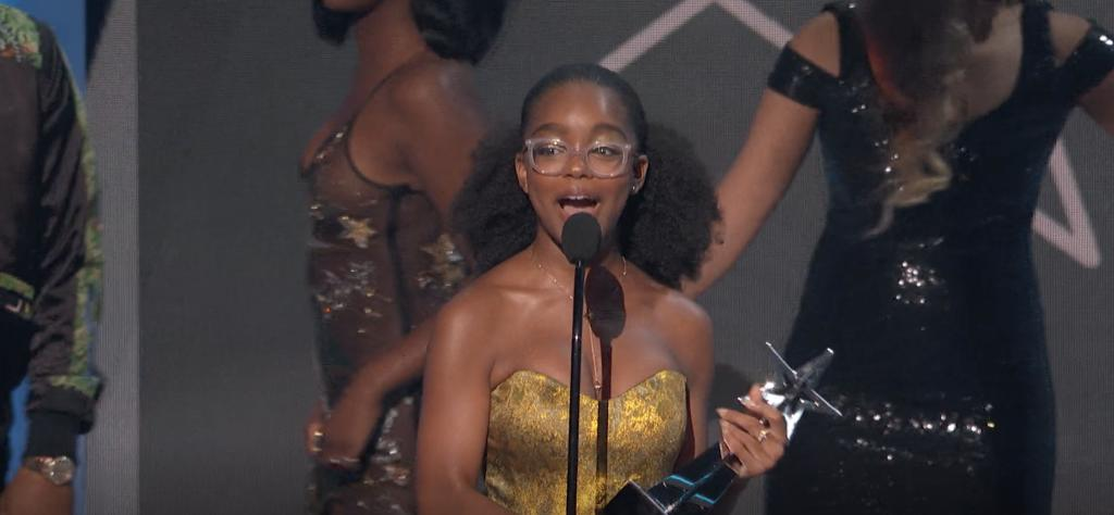 By winning the Young Stars Award, Little star @marsaimartin nabs the honor of being this year's best young performer. bet.us/2XBMpFa