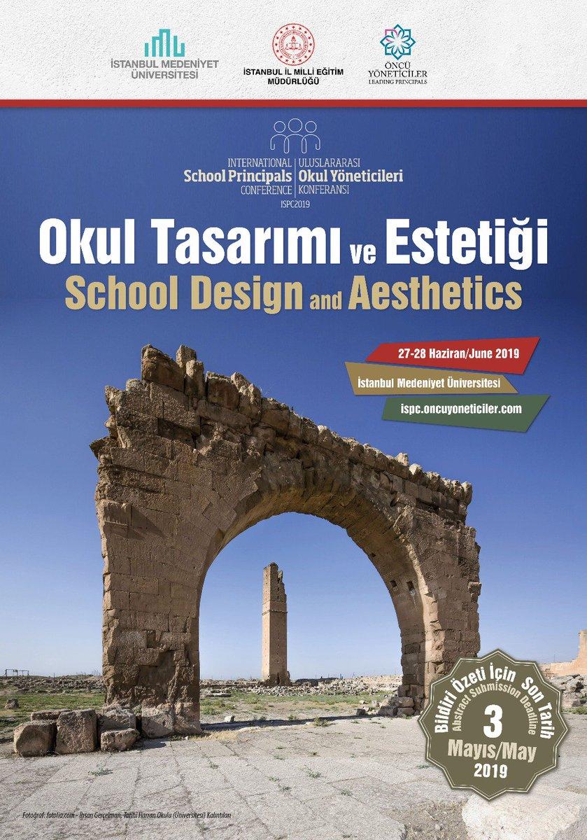 Okul Tasarımı ve Estetiği ana temalı Uluslararası Okul Yöneticileri Konferansı, 27-28 Haziran tarihlerinde İstanbul'da gerçekleşiyor. @tcmeb @ziyaselcuk @memleventyazici ☞ https://yapidergisi.com/okul-tasarimi-ve-estetigi-temali-uluslararasi-okul-yoneticileri-konferansi-ispc2019/…