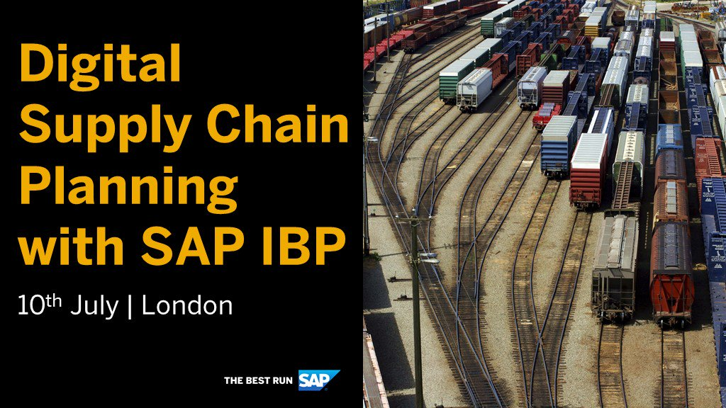 Discover insights, ideas and leading practices that will help you unleash the power of SAP Integrated Business Planning - all at our Digital Supply Chain Planning event with @DeloitteUK http://sap.to/6017Eqb4R