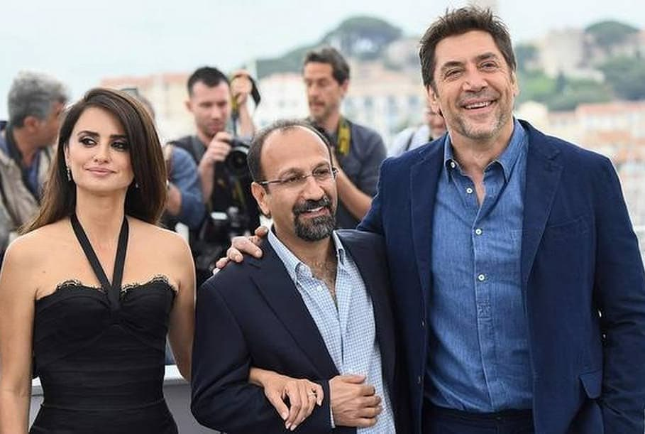 Asghar Farhadi Iranian director whose films A Separation (2012) and The Salesman (2016) both won the Academy Award for Best Foreign Feature. #iran #cinema #movie #director #oscar #academyaward #salesman #asgharfarhadi #cannes #film #festival #penelopecruz #javierbardem #actre