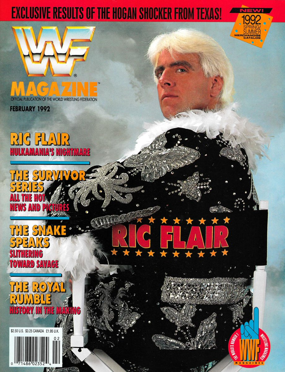 "Ric Flair WWF Magazine - Hulkamania's Nightmare - Like Bobby the Brain Heenan says, ""Be Fair to Flair!"" #RicFlair #HulkHogan<br>http://pic.twitter.com/uyoz3vqjGF"