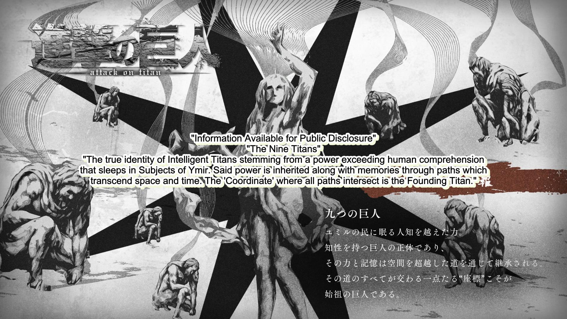 Attack On Titan Wiki On Twitter Attack On Titan Episode 58 Intermission Image