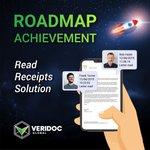 Image for the Tweet beginning: Roadmap Achievement   Message Read Receipt