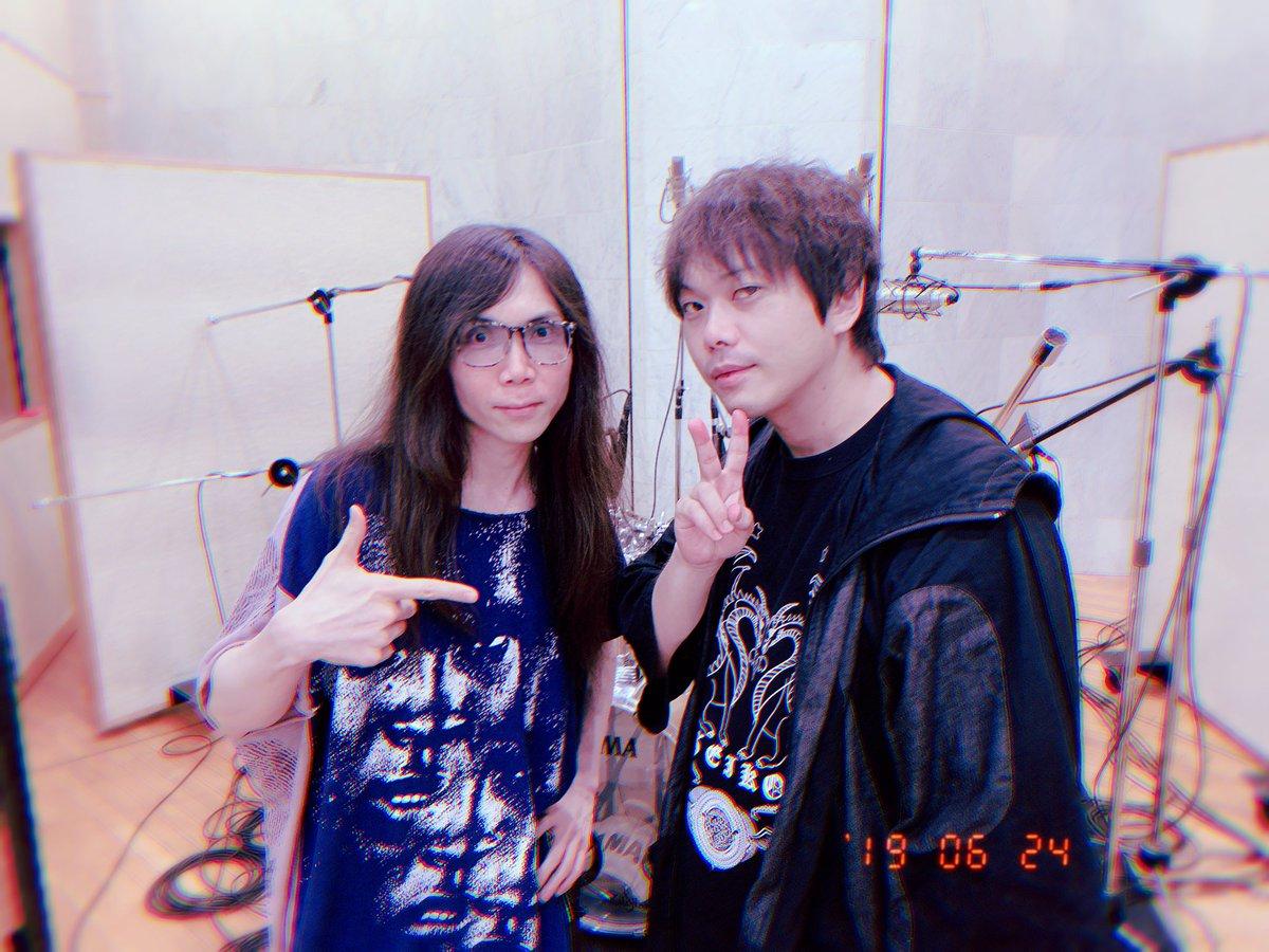 RT @KaoruOkuboMusic: ⭐️ピエール中野さんとRec ソリッドなサウンド最高! 久しぶり一緒に出来て嬉しいかった! ありがとうございました😊 https://t.co/PxVxaUGmHY https://t.co/oM3eBeUz8G