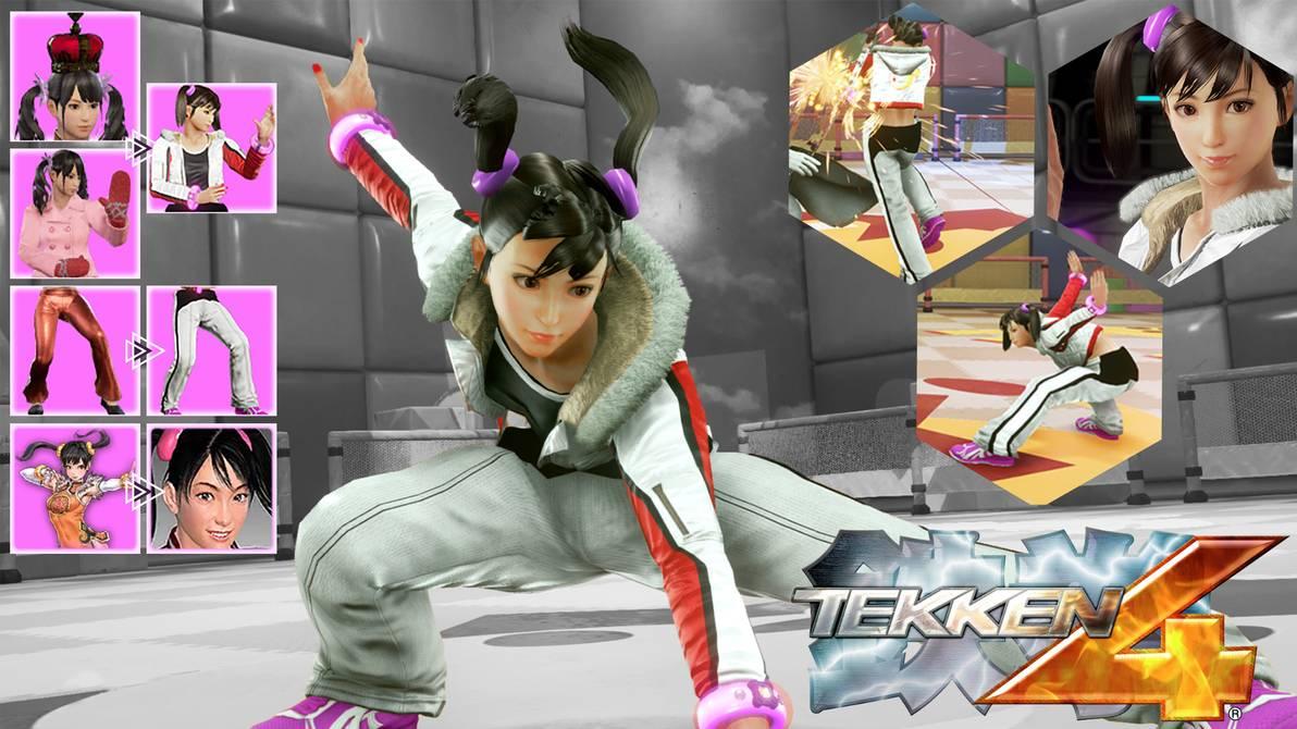 Wonkey On Twitter Tekken 4 Inspired Ling Xiaoyu By Siddiqy Https T Co P0edzmcdwp
