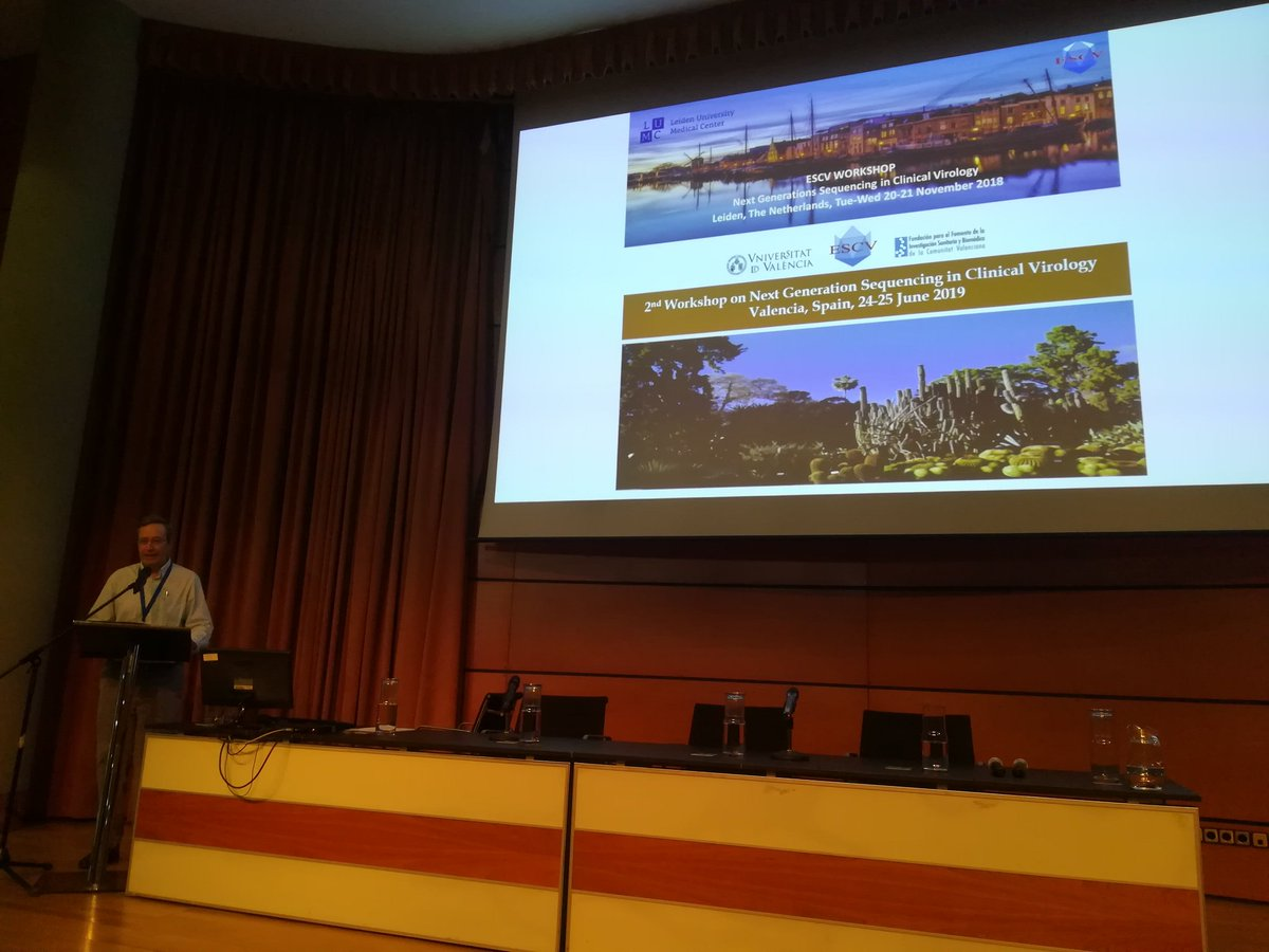 #DNAsequencing #ngs #genomics @HarvalaHeli: '2nd ESCV workshop on Next Generation Sequencing in Clinical Virology starting in beautiful Valencia with 95 participants and 16 speakers. Exciting two days ahead. #ESCV ' , see more http://tweetedtimes.com/v/9819?s=tnp