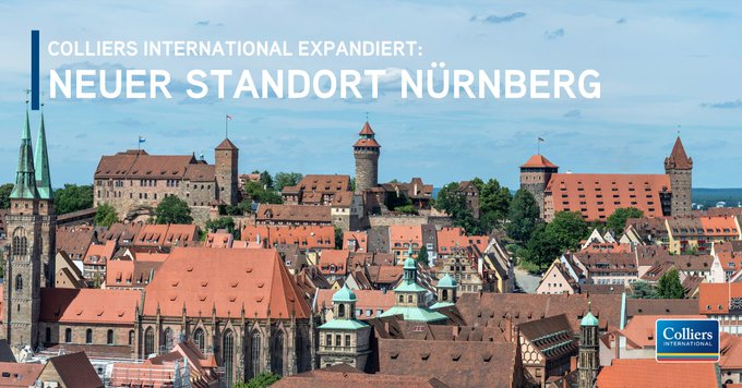 Colliers International expandiert weiter und eröffnet den Standort #Nürnberg:  t.co/rAOdqasb1V