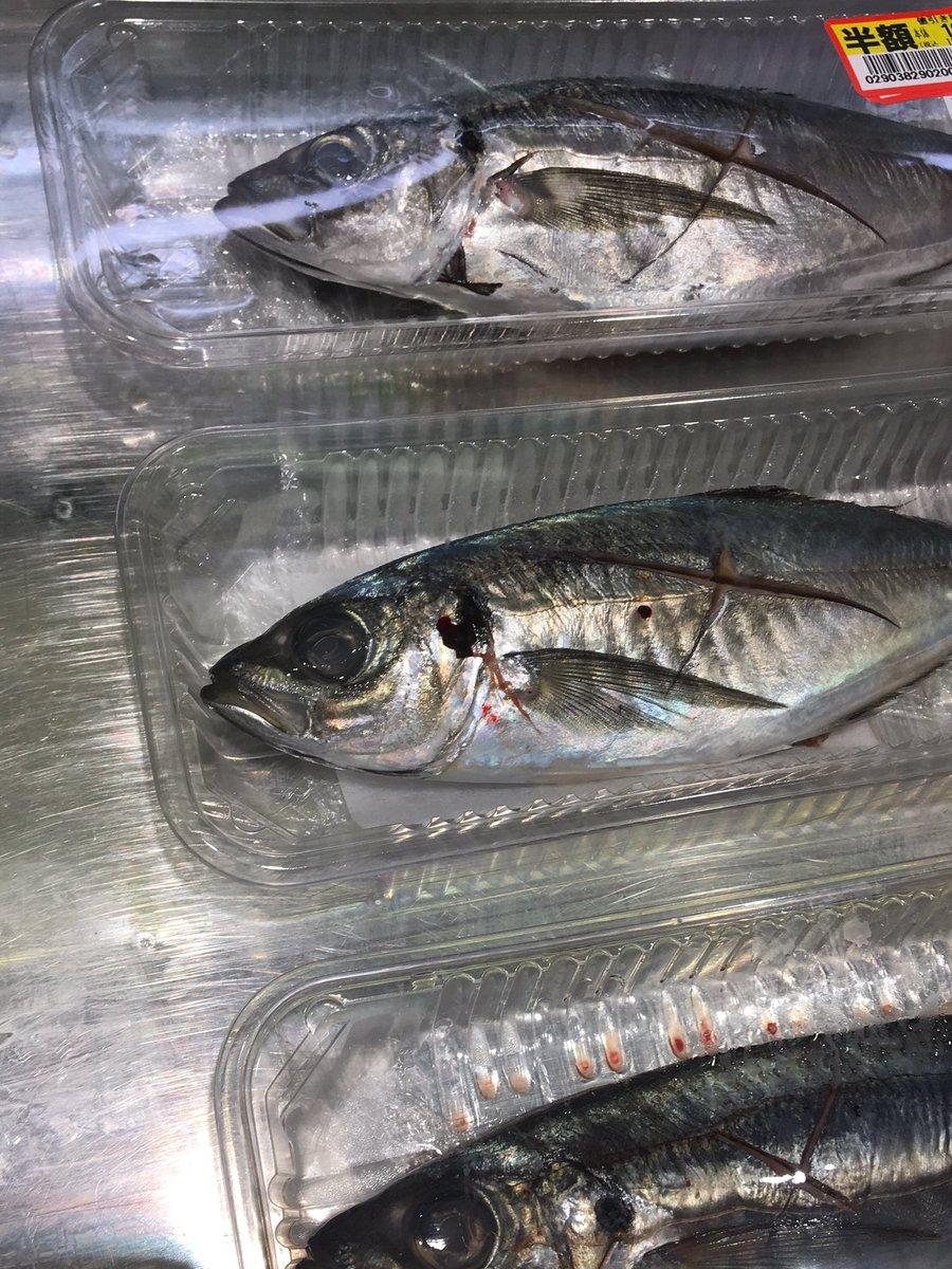 おっさんが「このスーパーの魚はみんな死んだ魚の目をしている!」って怒ってるんだが、俺も店員も聞こえないふりをしてるところです。