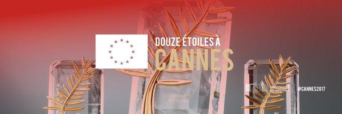 Félicitations à The Square, Palme d'Or 2017 ! 👏 Pour la 2ème année consécutive, la Palme revient à un film soutenu par l'UE 🇪🇺 👍 #Cannes2017