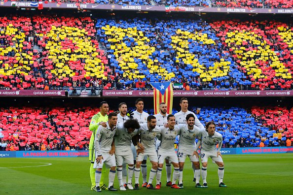 With Barca winning the Copa del Rey on Saturday, we will have TWO #ElClasico meetings between Real and Barca in the Spanish Super Cup…  <br>http://pic.twitter.com/dQsL7jSdWc