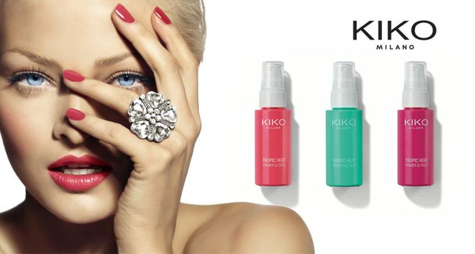 KIKO MILANO launches 'TROPIC HEAT'