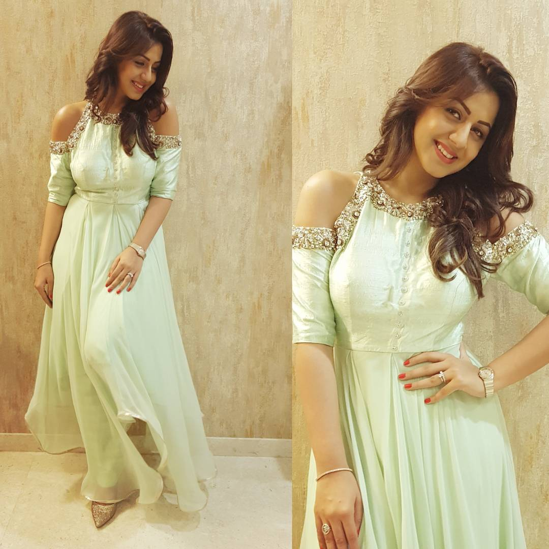 About last night  At the #SIIMA press meet in a #NidhikaShekhar outfit by #TifaraChennai  Styled by my favourite #DeepthiReddy pic.twitter.com/EzMJrkJqR7