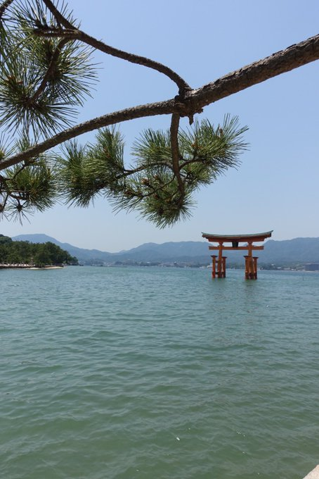 Itsukushima Shrine of #Hiroshima. #Japan #travel #monday