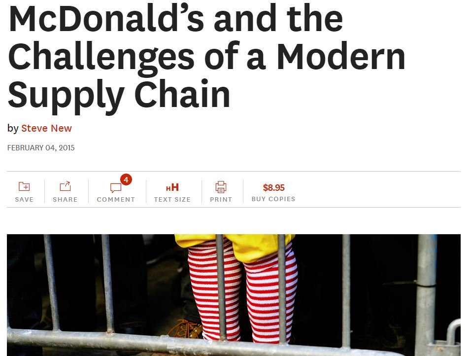 #supplychain transparency : the perfect case study of @McDonaldscorp by @harvardbiz  https:// hbr.org/2015/02/mcdona lds-and-the-challenges-of-a-modern-supply-chain &nbsp; … <br>http://pic.twitter.com/tEzl6tIzKm