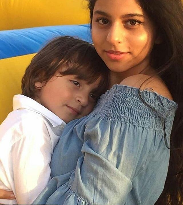 #bollywood @iamsrk &#39;s beautiful daughter #Suhanakhan with #AbRam #RelationshipGoals<br>http://pic.twitter.com/BR7dS7rvel