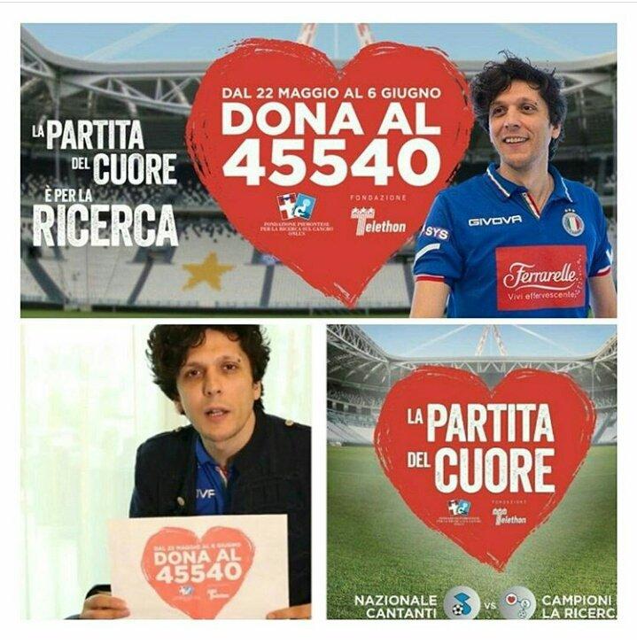 Partita del Cuore 2017: Nazionale Cantanti in Diretta TV streaming dal Juventus Stadium di Torino