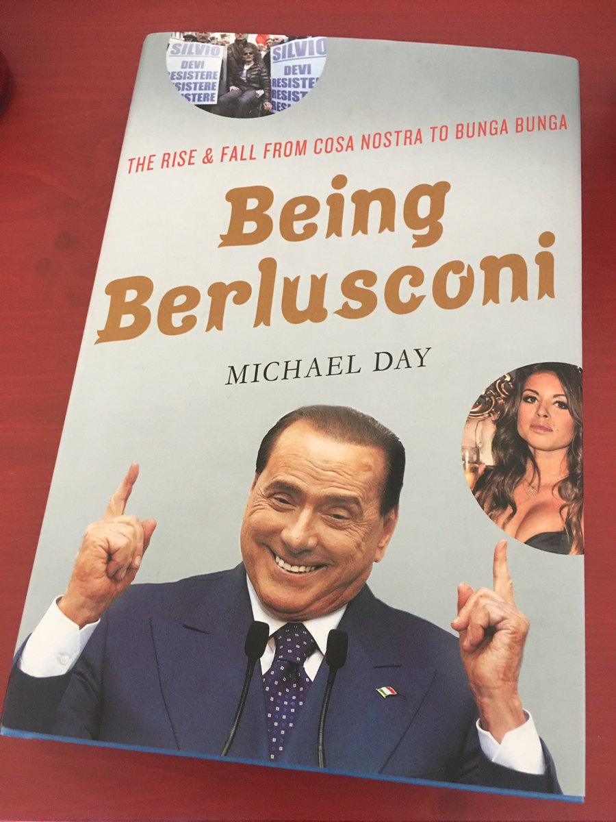 Stunning @Independent correspondent Michael Day&#39;s book, revealing for what #Berlusconi has always lived and been in office: #money.<br>http://pic.twitter.com/FC2en38xoo