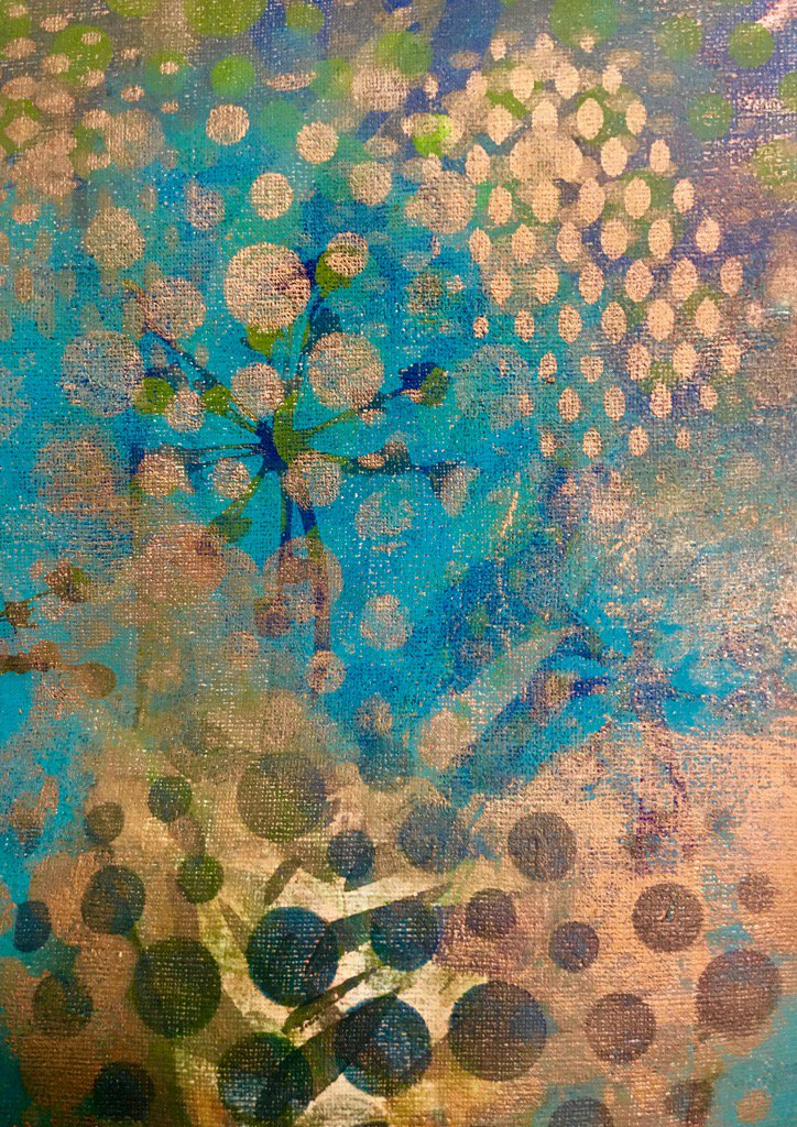 Layering mono #prints over #vintage #wallpaper good results for #art on #paper #coonawarra #penola #studios<br>http://pic.twitter.com/fu330gF2ct
