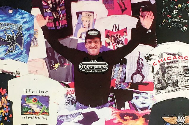 The guy who made concert tees cool takes a look back on 40 years of re...