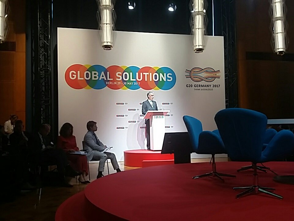 #T20germany  F. Appel: young people need a purpose in life and hope that tmrrw is better than today #G20Germany  #GlobalSolutions https://t.co/bDRVc54NyP